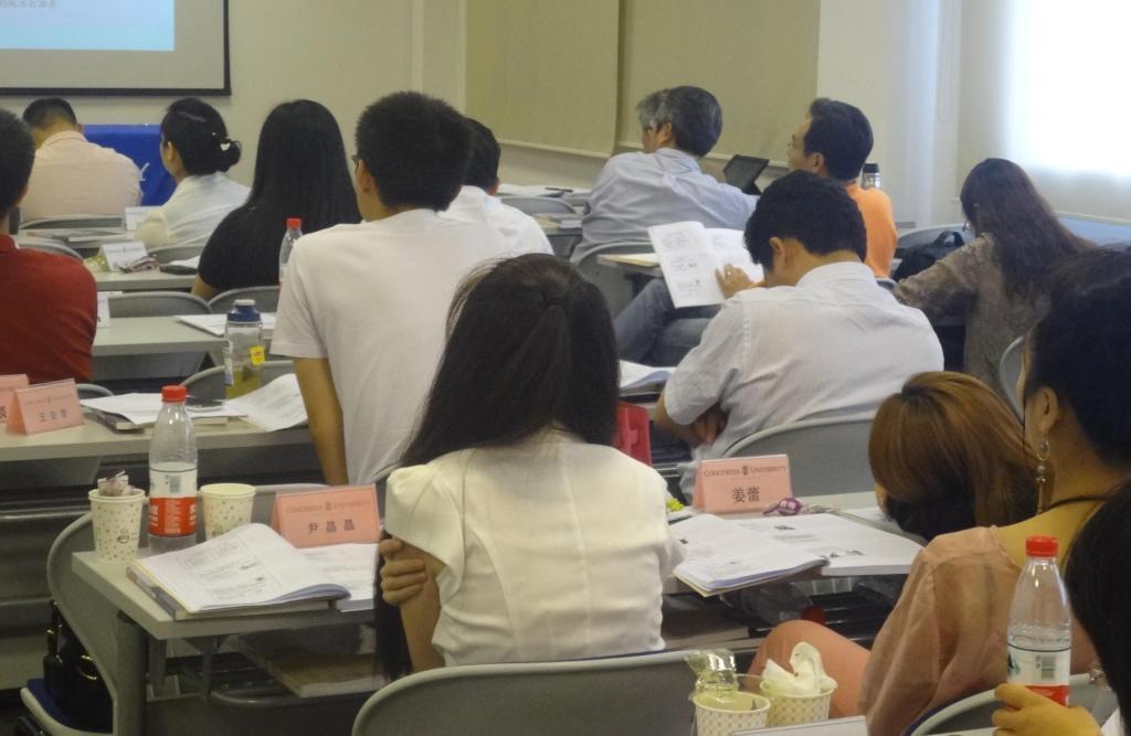 美国威斯康星协和大学 企管硕士班 北京上海校友交流会